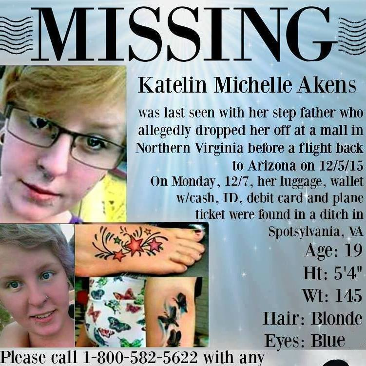 Katelin Akens Missing Disappeared Season 8