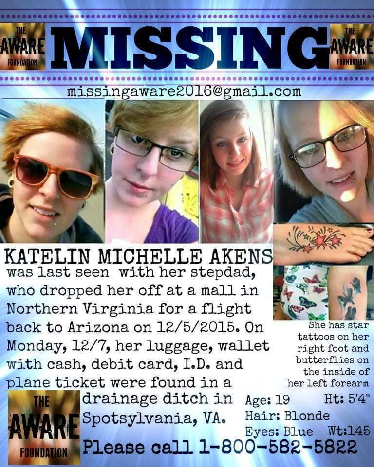 Katelin Michelle Akens Missing Disappeared Season 8