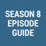 Season 8 Episod Guide for Disappeared