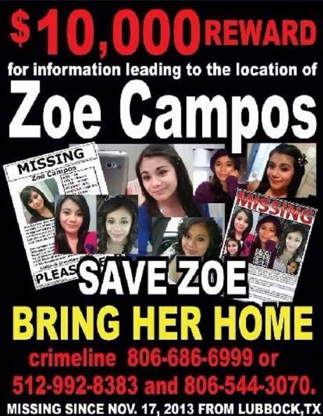 Zoe Campos Missing Texas Disappeared Season 8
