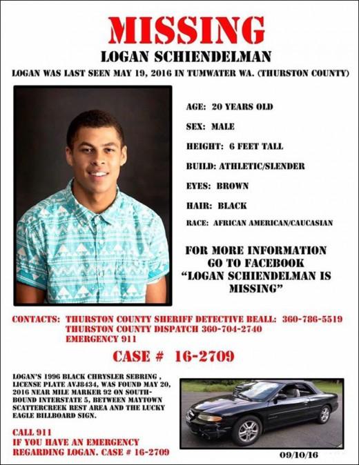 Logan Schiendelman Missing
