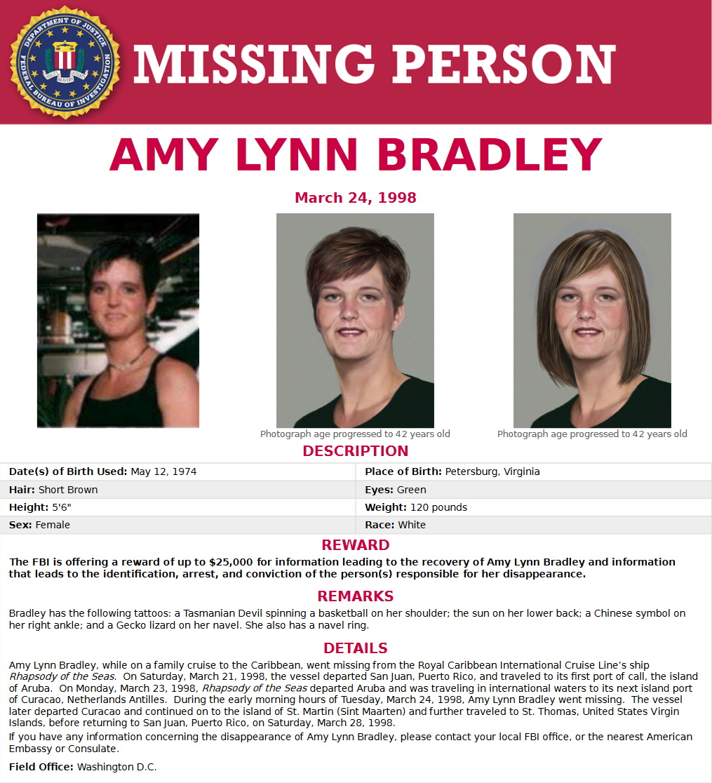 Amy Lynn Bradley Missing