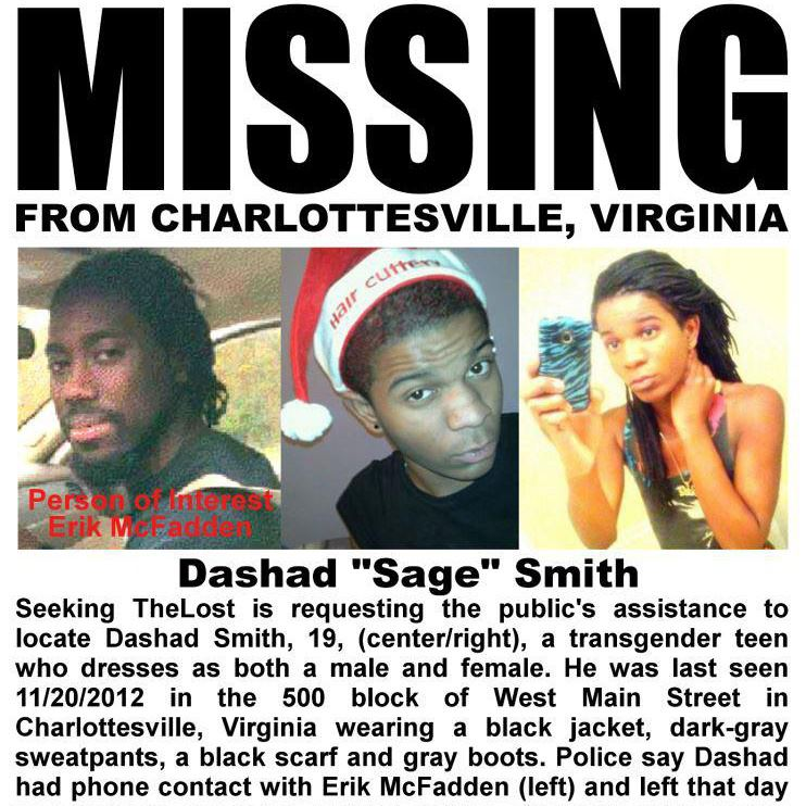 Sage Smith Missing Virginia