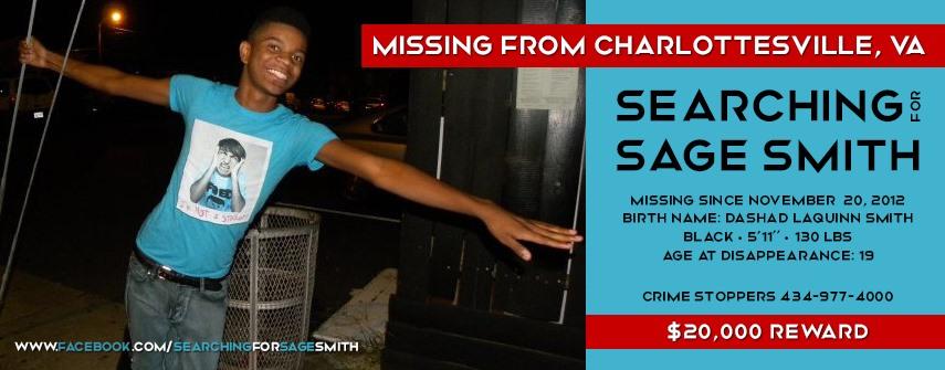 "Dashad ""Sage"" Smith Missing"