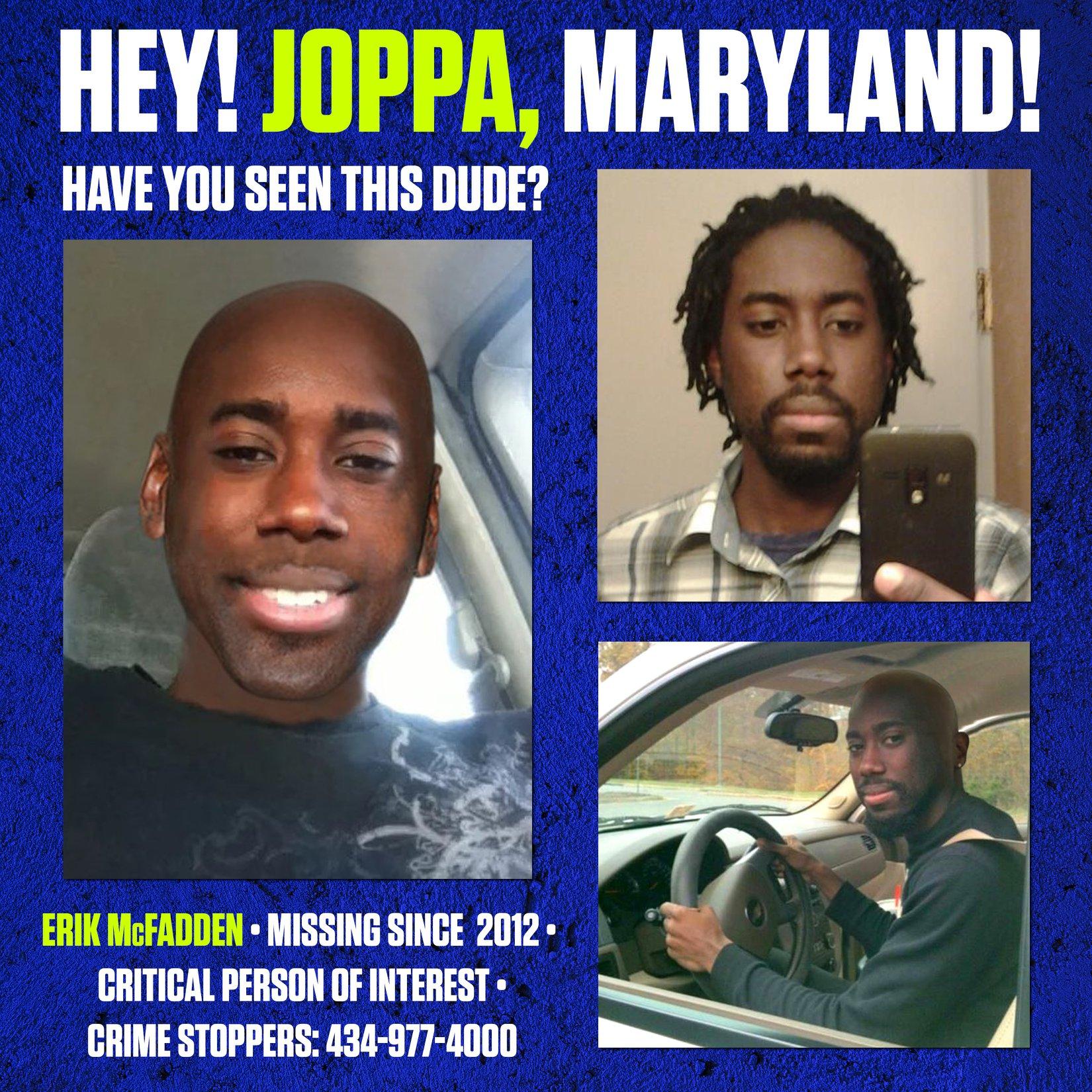 Erik McFadden Missing Virginia
