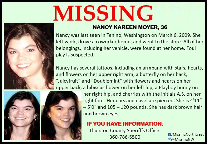 Nancy Moyer Missing