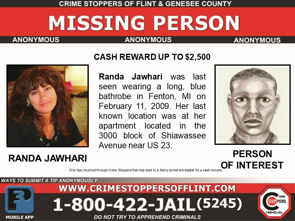 Randa Jawhari Missing From Michigan