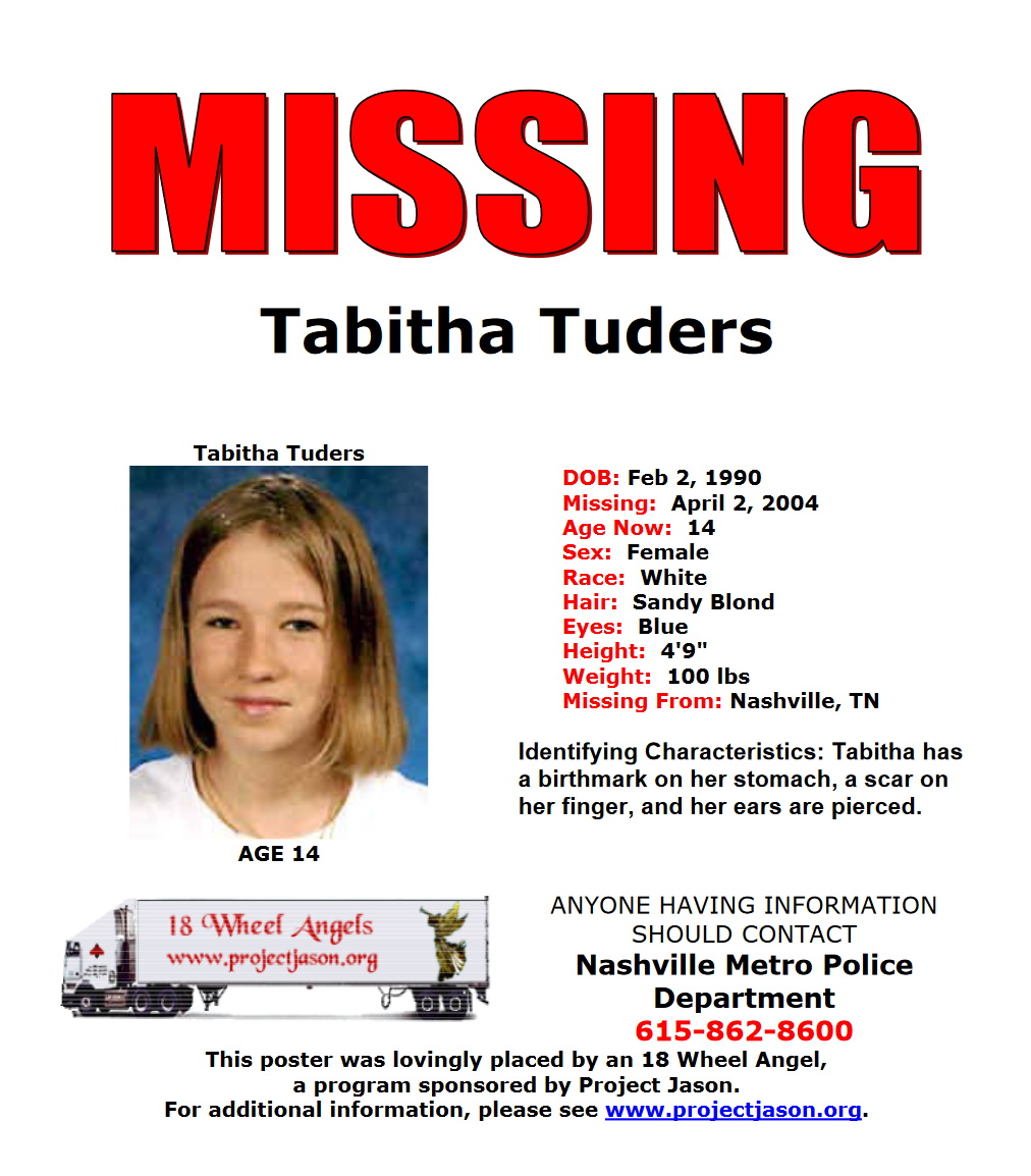Tabitha Tuders Missing