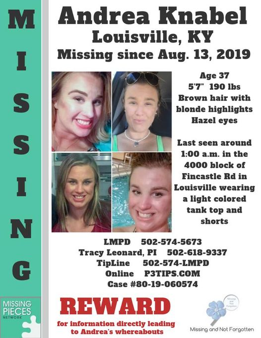 Andrea Knabel Missing Person Kentucky