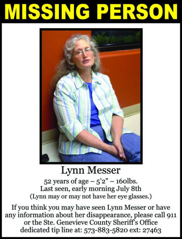 Lynn Messer Missing Persons Flyer