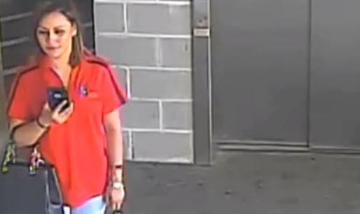 Prisma Reyes captured on CCTV