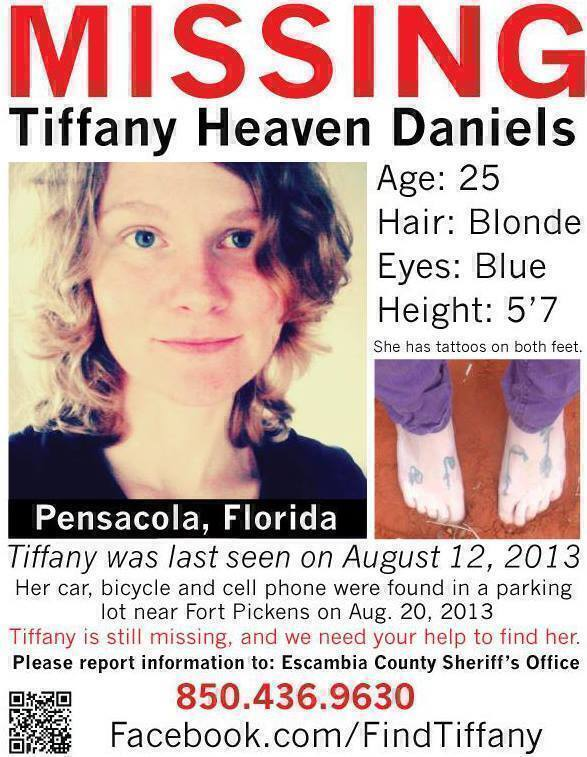 Tiffany Daniels Missing From Florida 2013