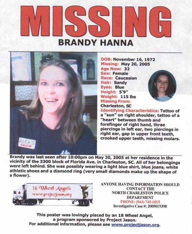 Brandy Hanna Missing