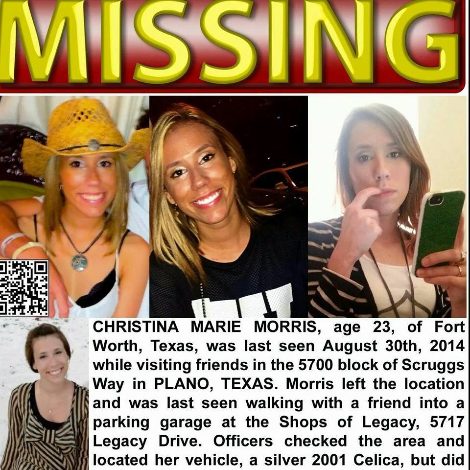 Christina Morris Texas Missing