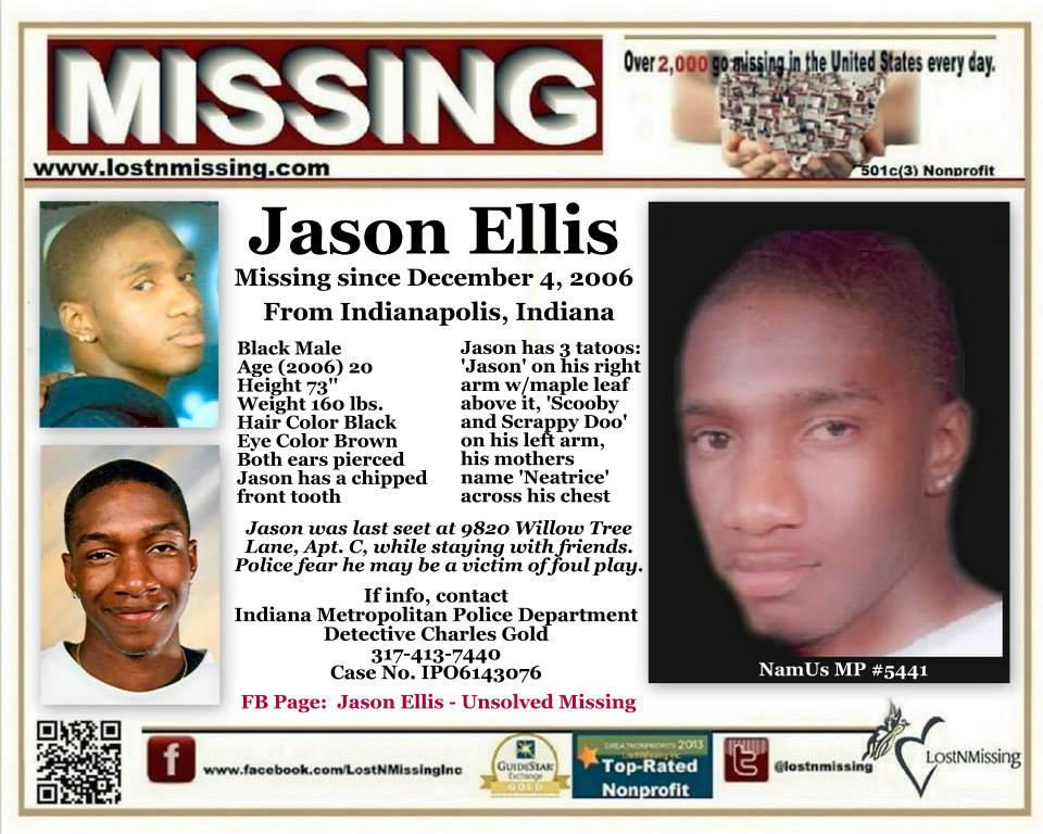 Jason Ellis Missing Indiana