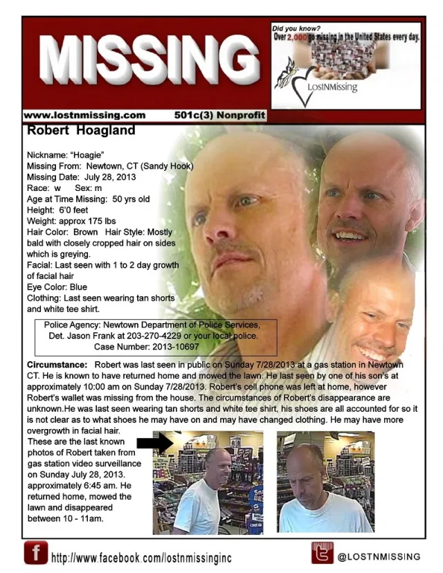 Robert Hoagland Missing