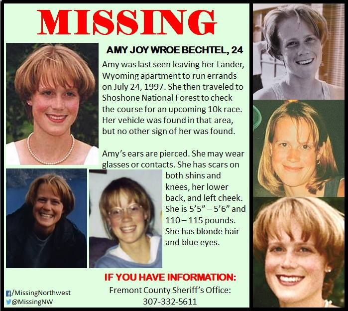 Amy Bechtel Missing Wyoming