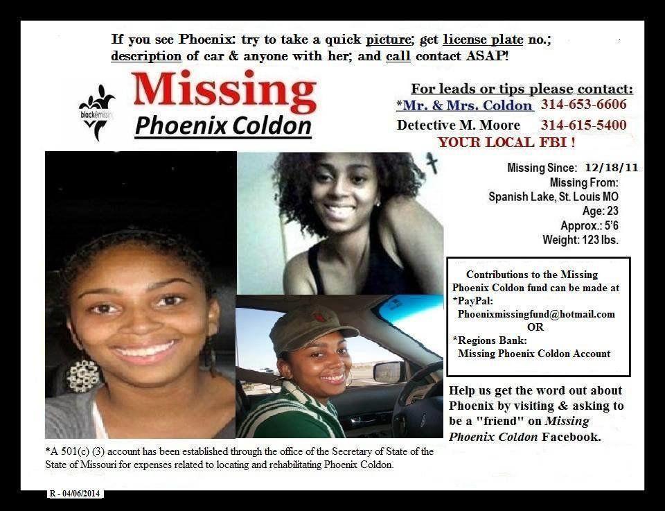 Phoenix Coldon Missing