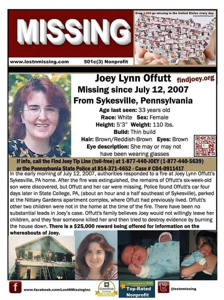 Joey Offutt Missing