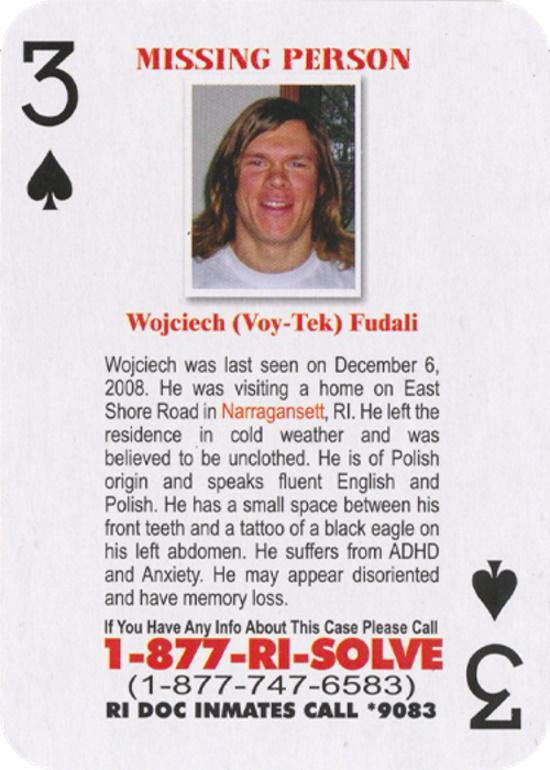 Wojciech Fudali Disappeared